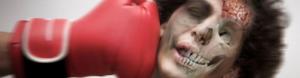 Slag mot huvud